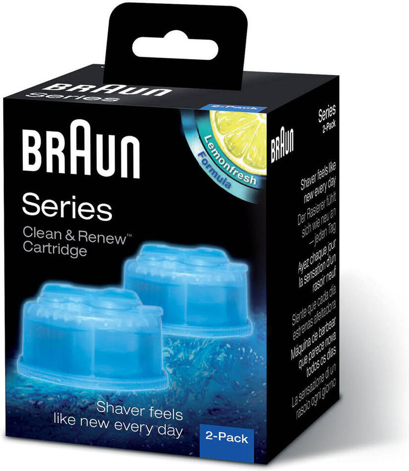 Náhradní náplň Braun CCR2 - Clean&Charge