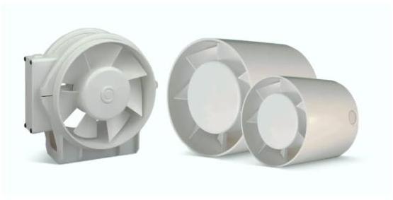 Axiální ventilátor Cata MT-125