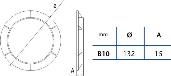 Kroužek Cata B-10