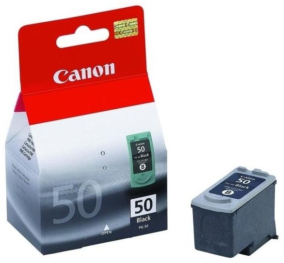 Inkoustová náplň Canon PG50, 750 stran, originální - černá