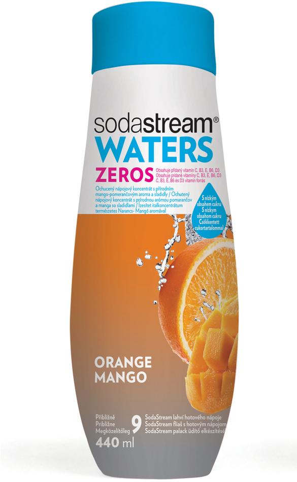 Příchuť ZERO Pomeranč-Mango 440 ml SODA SodaStream