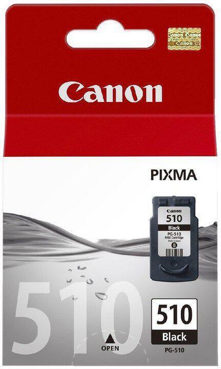 Inkoustová náplň Canon PG-510Bk, 220 stran, originální - černá