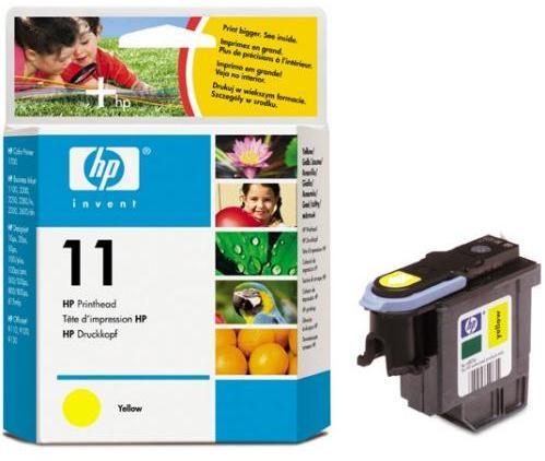 Inkoustová náplň HP No. 11, 24K stran originální - žlutá
