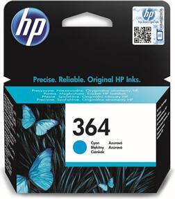 Inkoustová náplň HP No. 364, 300 stran originální - modrá