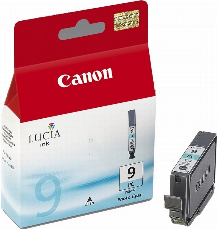 Inkoustová náplň Canon PGI-9PC originální - modrá