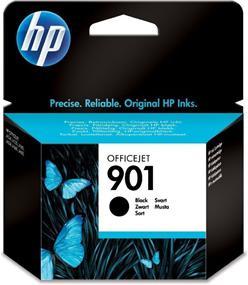 Inkoustová náplň HP No. 901, 4 ml, 200 stran originální - černá