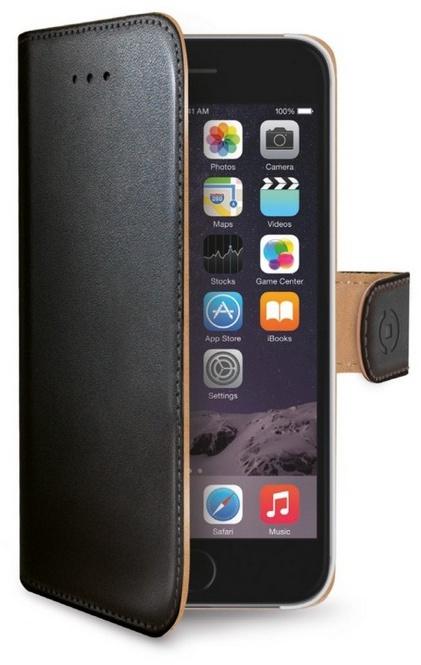 Pouzdro na mobil flipové Celly Wally pro Apple iPhone 6 6s - černé Pouzdro  ... d521b1e5b0a