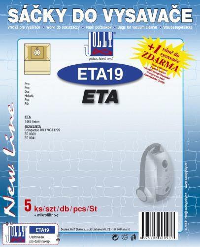 Sáčky do vysavače Jolly ETA 19 (5ks) do vysav. ETA