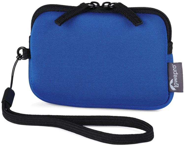 Pouzdro foto LowePro Varia 10 modré neoprénové