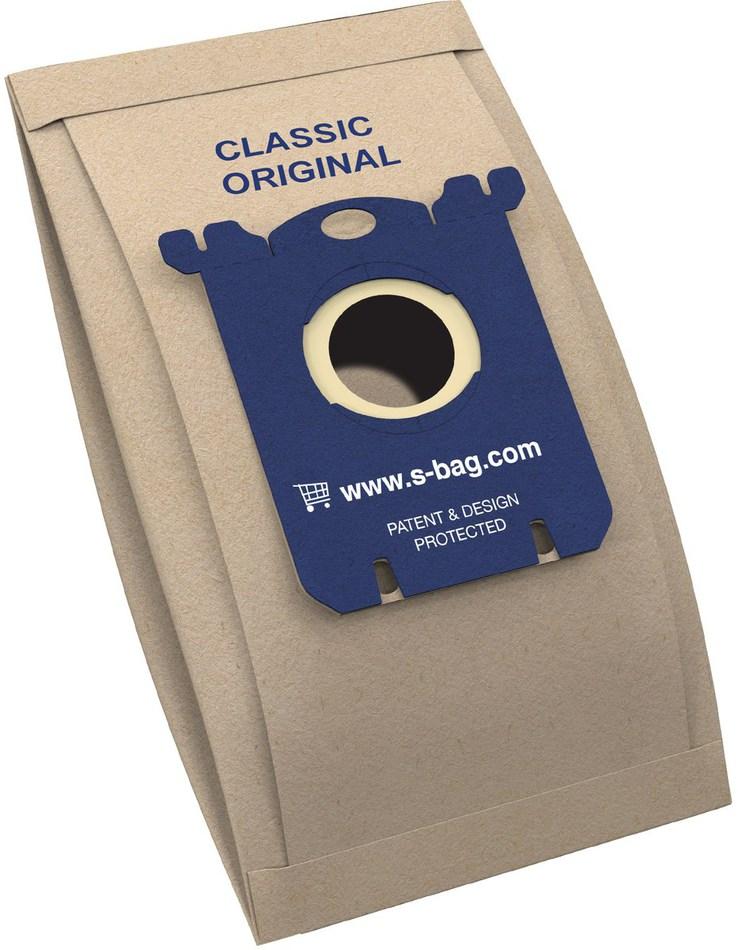 Sáčky do vysavače Electrolux E200 (Classic s-bag) 5ks do vysav. Clario, Excellio,Oxygen, Ultra Silencer, do vysav. mondo 6201