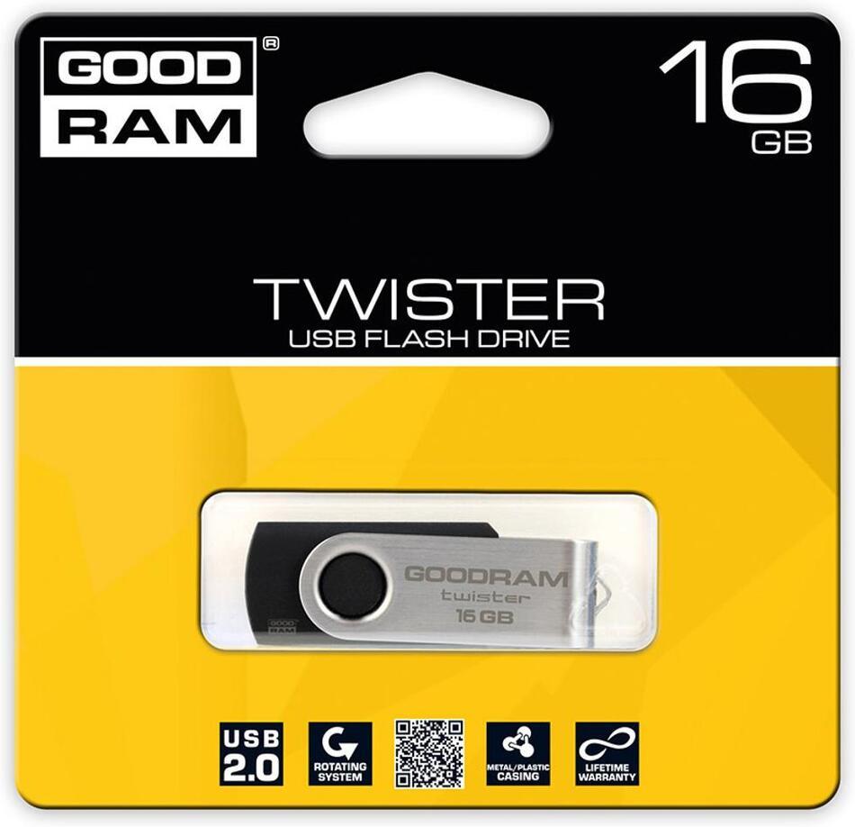 USB Flash disk Goodram FD 16GB TWISTER USB 2.0