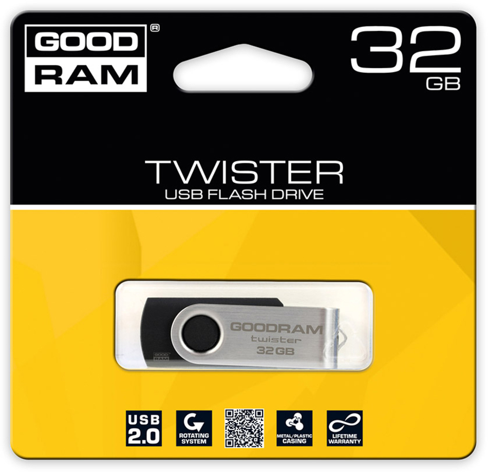 USB Flash disk Goodram FD 32GB TWISTER USB 2.0