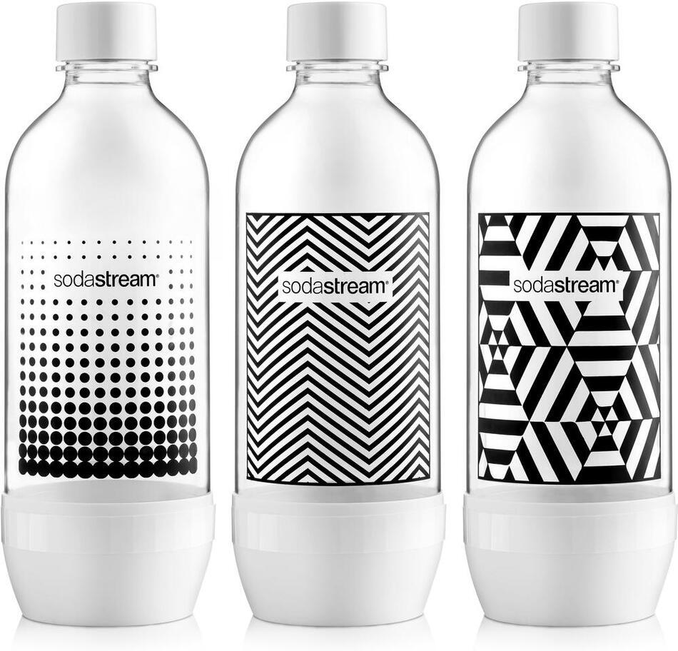 Náhradní láhev Sodastream Lahev TriPack 1l Black&White
