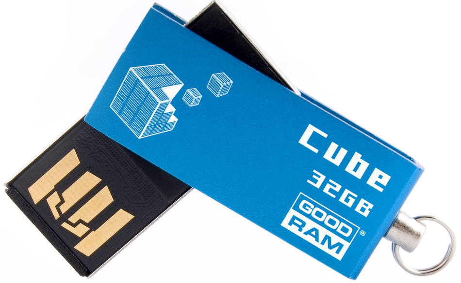 USB Flash disk Goodram USB FD 32GB CUBE Blue