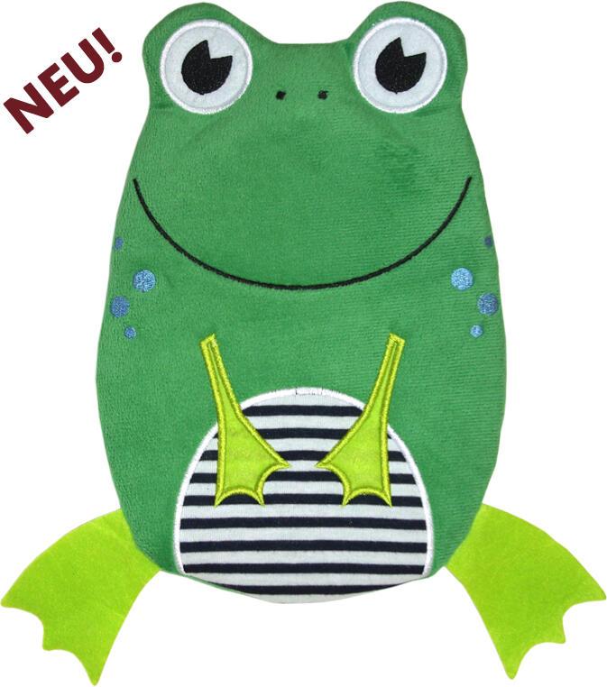 Dětský termofor Hugo Frosch Eco Junior Comfort - žába