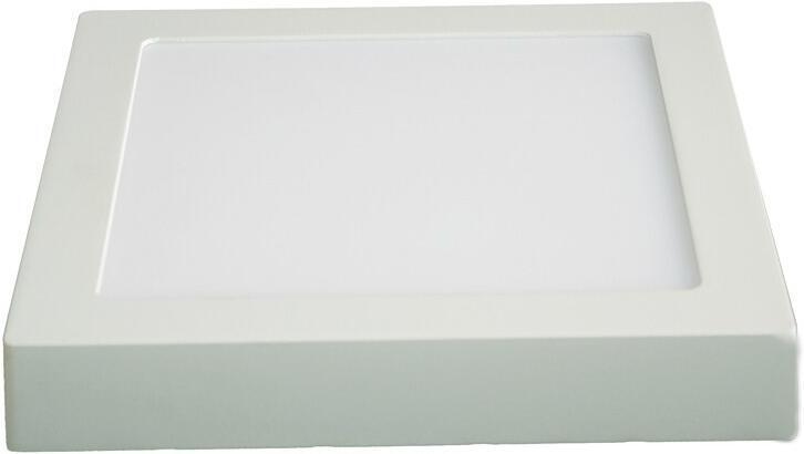 Svítidlo Solight LED přisazené, 18W, 1530lm, 4000K, čtvercové, bílé WD120