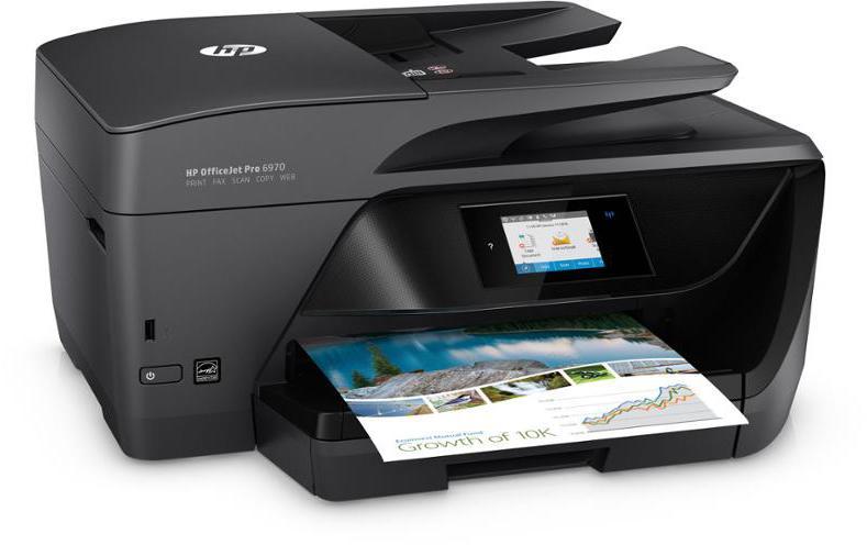 Tiskárna multifunkční HP Officejet Pro 6960 A4 - černá
