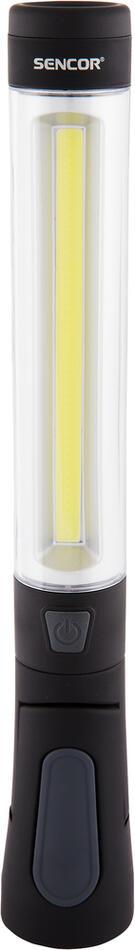 Svítilna Sencor SLL 83 SVÍTILNA 3W COB + 1W 4xAAA