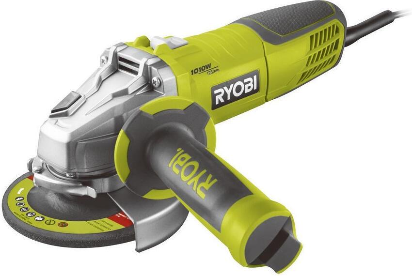 Ryobi RAG1010-125SF, úhlová bruska 125 mm