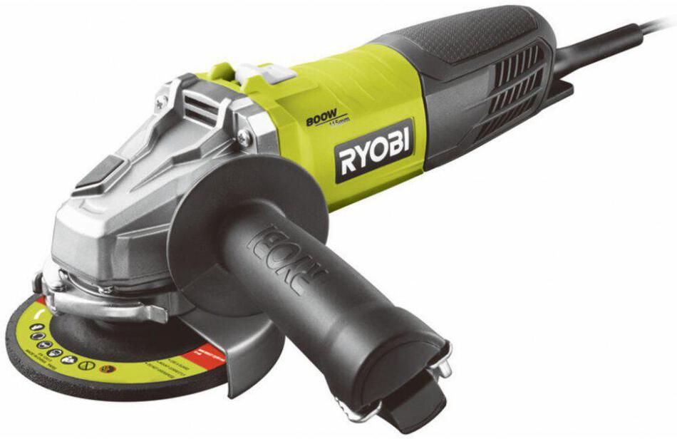 Ryobi RAG800-115G, úhlová bruska 115 mm