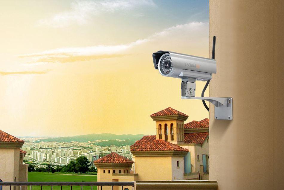 Technaxx bezdrátová bezpečnostní kamera pro vnitřní i venkovní použití (TX-24) (4319)