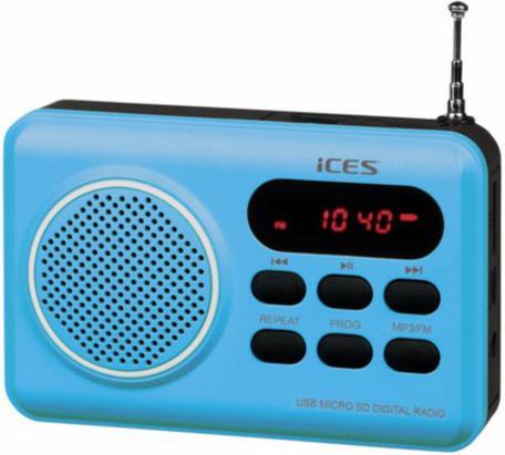 Radiopřijímač Lenco IMPR 112, modrý