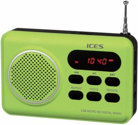 Radiopřijímač Lenco IMPR 112, zelený