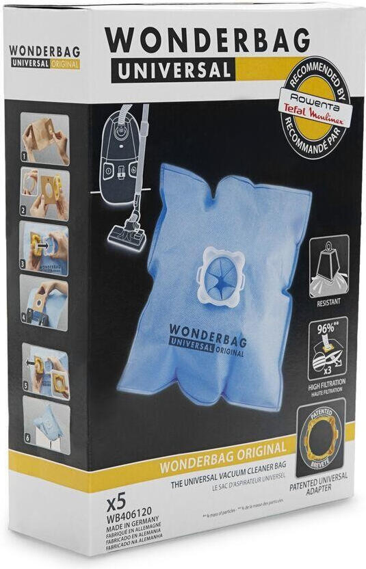 Filtr Rowenta WB406140 Wonderbag (5 ks)