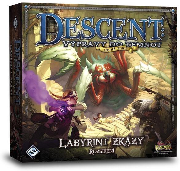 Descent 2nd Ed: Labyrint zkázy