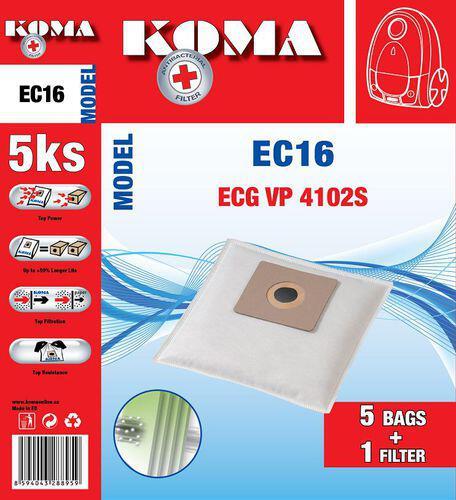 Koma EC16S - ECG VP 4102S SMS