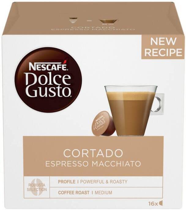 NESCAFÉ® Dolce Gusto® Cortado kávové kapsle 16 ks