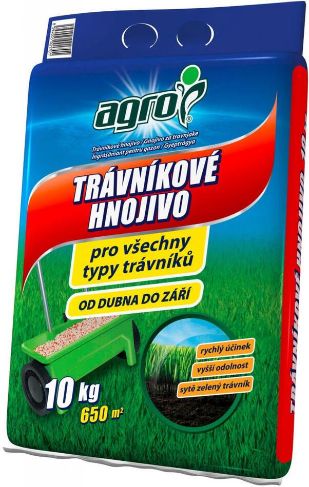 Hnojivo Agro Trávníkové pytel 10 kg