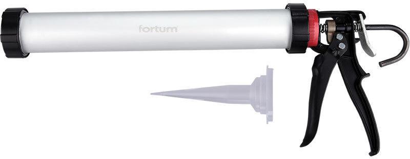 """Pistole vytlačovací PROFI """"TUBUS"""", 380mm, 700 ml FORTUM"""