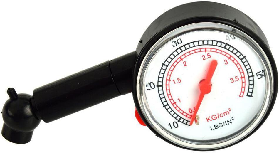 Měřič tlaku pneumatik GEKO