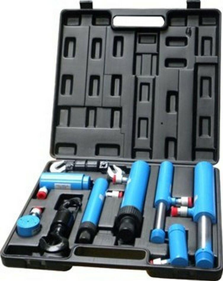 Hydraulické spojky, sada 7ks, kufr GEKO