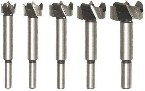 Sada fréz do dřeva 5 ks, průměr stopky fréz 8mm, přesnost +/- 0.02mm TOYA