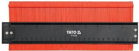 Šablona na profily, 260 mm, magnetická YATO