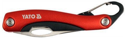 Nůž kapesní s karabinou YATO