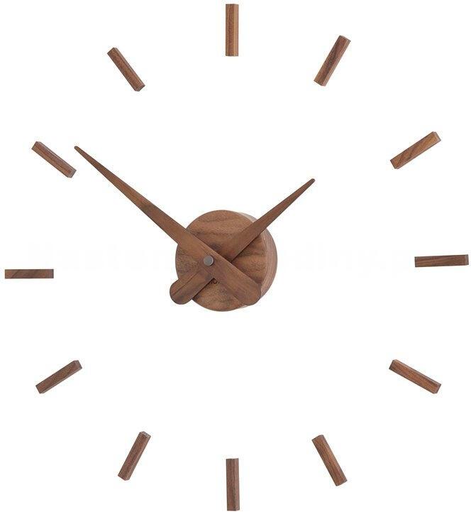 Designové nástěnné hodiny Nomon Sunset Wood 50cm