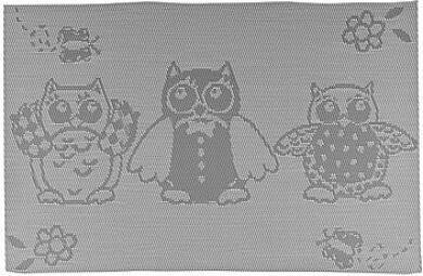 Prostírání OWLS Grey 45 x 30 cm