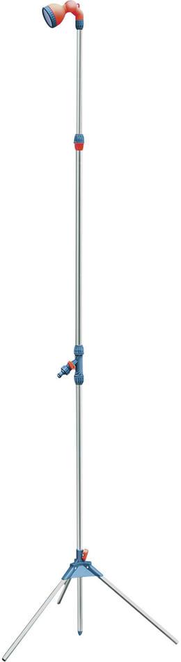 Sprcha zahradní teleskop. se stojanem, 160-220cm, ABS,hliník EXTOL-PREMIUM