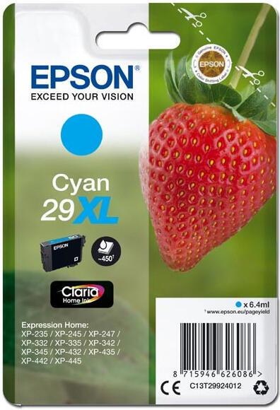 Epson Singlepack Cyan 29XL Claria Home Ink (C13T29924012)