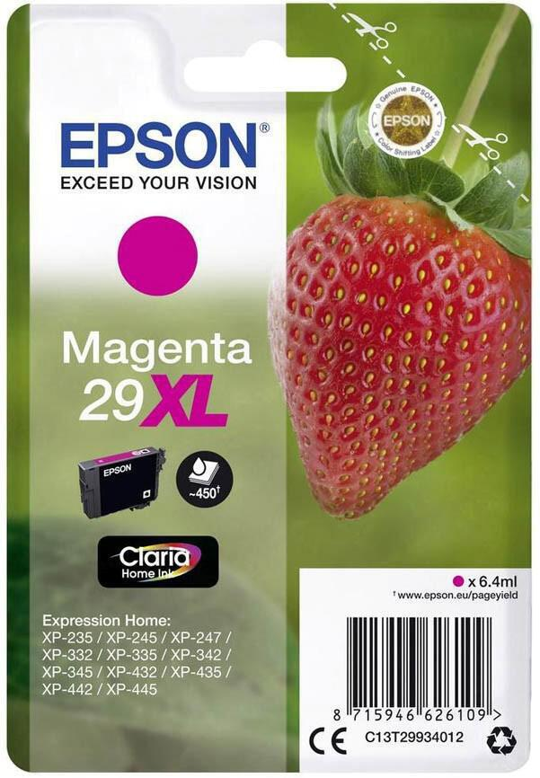 Epson Singlepack Magenta 29XL Claria Home Ink (C13T29934012)