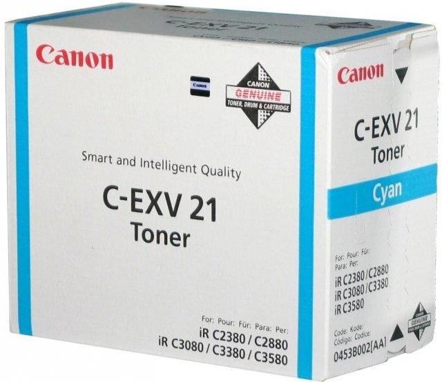 Toner Canon C-EXV21C, 14K stran originální - modrý