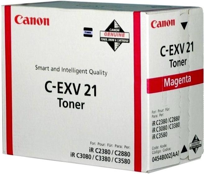 Toner Canon C-EXV21M, 14K stran originální - červený