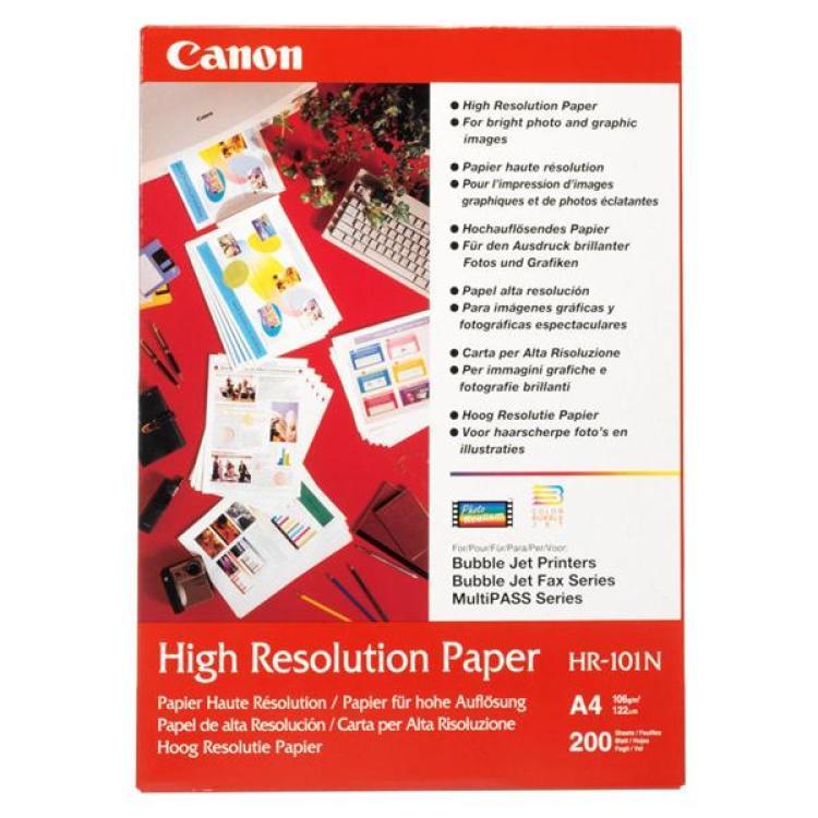 Papír Canon HR-101 high resolution A4 / 200 listů 106g/m2 (1033A001)