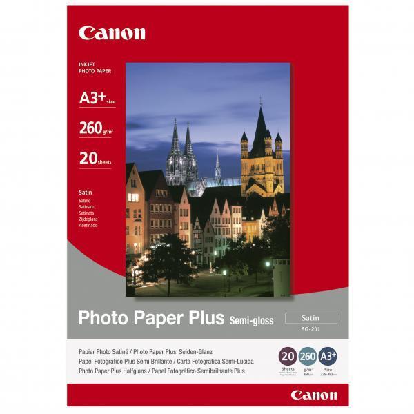 Papíry do tiskárny Canon SG-201 A3+, 260g, 20 listů