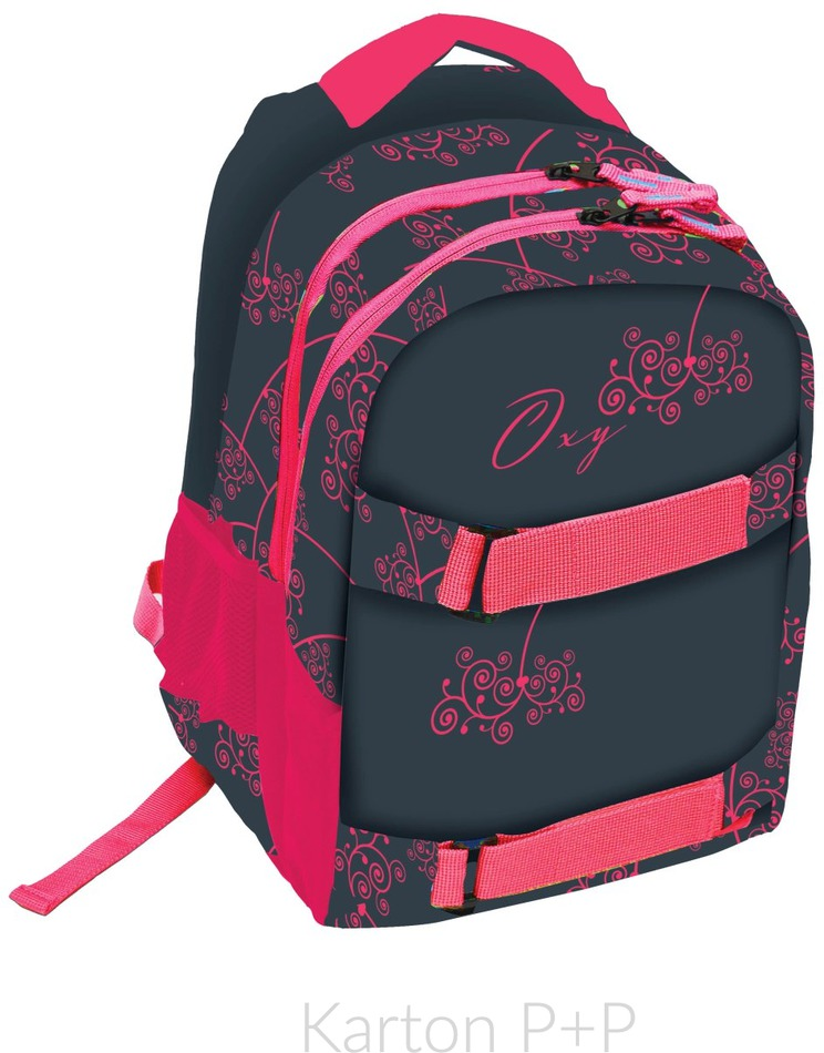 6a1fd3fad7b Diskuze Karton P+P Studentský batoh OXY One Pink 7-70317