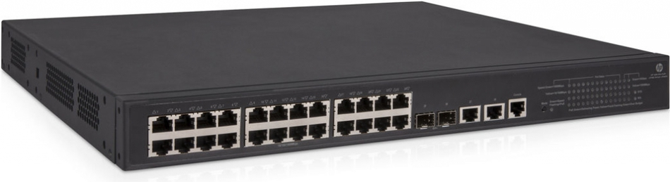 HPE 1950 24G 2SFP+ 2XGT PoE+ Switch (JG962A)