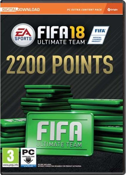 PC - FIFA 18 2200 FUT POINTS